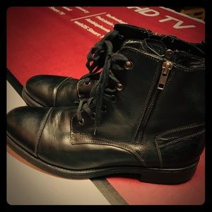 Genuine leather Express boots